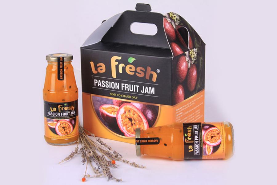 Cách pha chế nước trái cây Lafresh Dalat