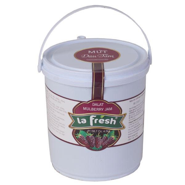 Mứt dâu tằm thùng nhựa 4,5kg