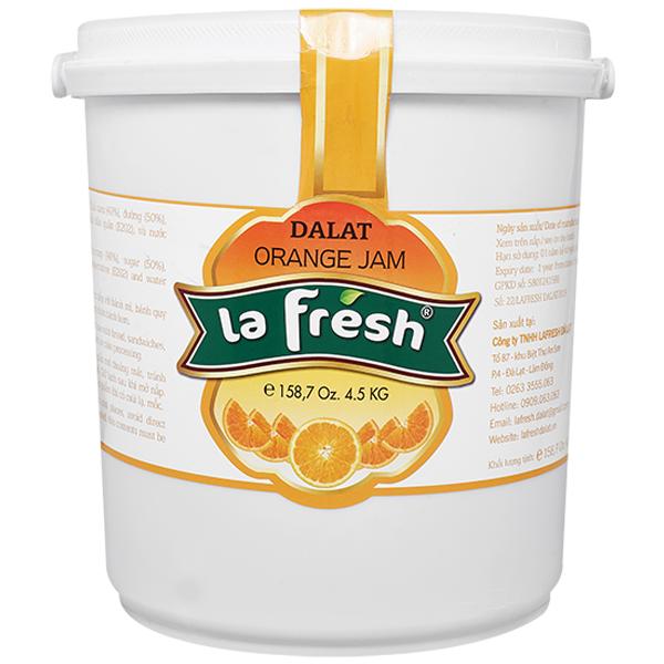 Mứt cam thùng nhựa 4,5kg